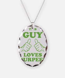 This Guy Loves Burpees Necklace