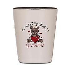 Belongs To Grandma Shot Glass