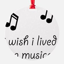 Live In Musical Ornament