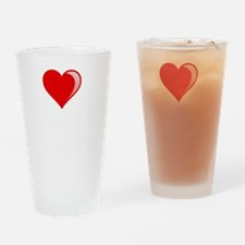 Miracles Love Drinking Glass