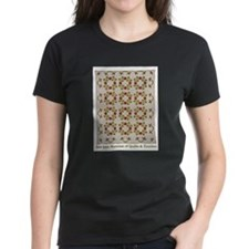 Rose of Sharon Quilt T-Shirt