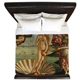 Botticelli birth of venus Duvet Covers