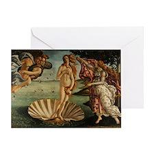 Botticelli Birth Of Venus Greeting Card