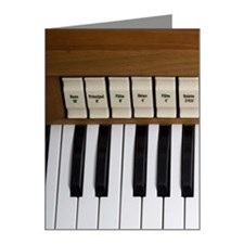 An organ Note Cards (Pk of 10)