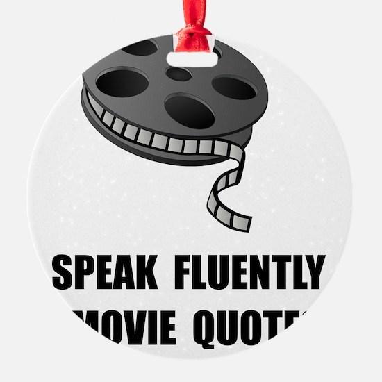 Speak Movie Quotes Ornament