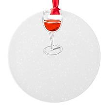 Wine Flu Ornament