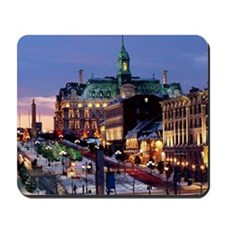 Place Jacques Cartier on a winter night, Mousepad