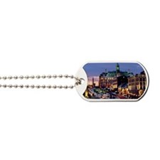 Place Jacques Cartier on a winter night,  Dog Tags