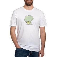 Chick under Mushroom Shirt