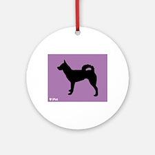 Klee Kai iPet Ornament (Round)