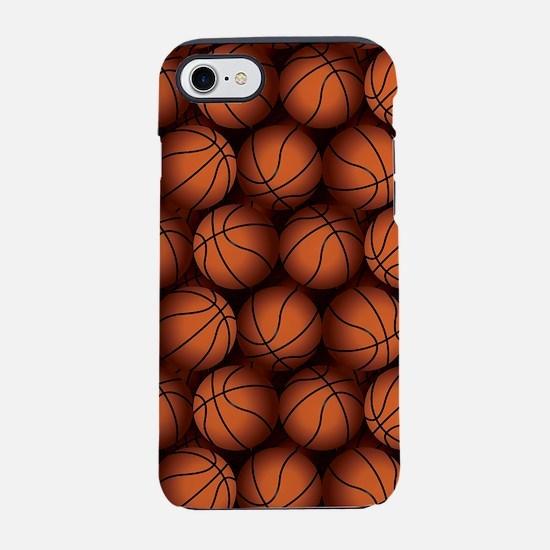 Basketball Balls iPhone 7 Tough Case