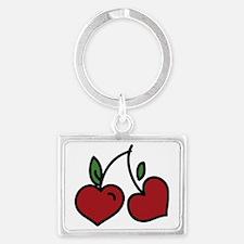Wild Cherry Landscape Keychain