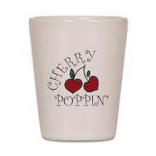 Cherry Poppin Shot Glass