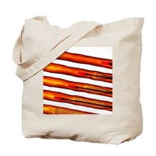 Stent in clear tubes, digital composite Tote Bag