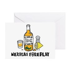 Mexican Foreplay Greeting Cards (Pk of 10)
