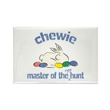 Easter Egg Hunt - Chewie Rectangle Magnet