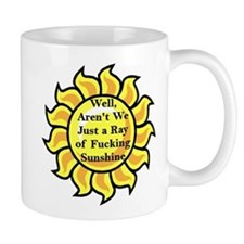 Well Aren't We Just A Ray Of Fucking Sunshine  Small Mug