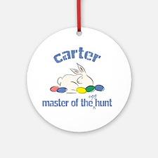Easter Egg Hunt - Carter Ornament (Round)