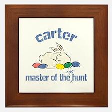 Easter Egg Hunt - Carter Framed Tile