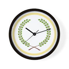 Order of the Laurel Wall Clock