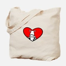 My Heart Goes Out to the Cows Tote Bag
