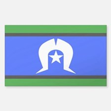 Torres Strait Islander Flag Decal