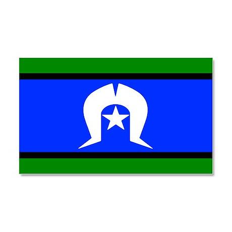 Torres Strait Islander Flag Car Magnet 20 X 12