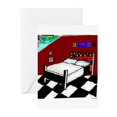 8 To 10 AM by Brett Fletcher Greeting Cards (Packa
