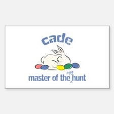 Easter Egg Hunt - Cade Rectangle Decal