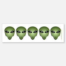 Alien Bumper Bumper Bumper Sticker