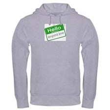 HELLO MY NAME IS DESIGNATED DRIVER Hoodie