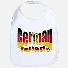 German flag fanatic Bib