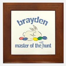 Easter Egg Hunt - Brayden Framed Tile