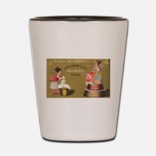Jas S Kirk Soap Makers ad Circa 1880 Shot Glass