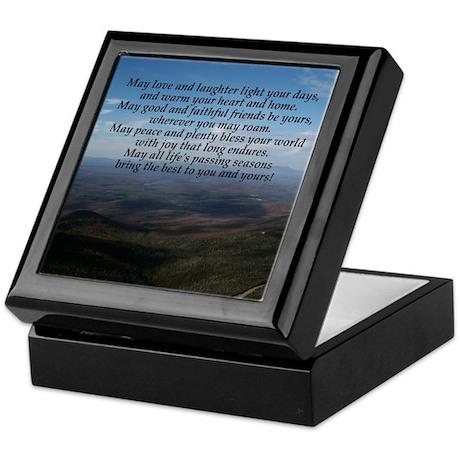 Old Irish Blessing Keepsake Box