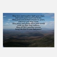 Old Irish Blessing Postcards (Package of 8)