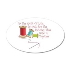 Quilt of Life Wall Decal