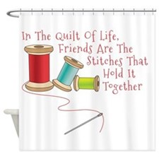 Quilt of Life Shower Curtain