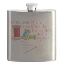 Quilt of Life Flask
