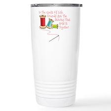 Quilt of Life Travel Mug