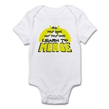 Learn To Merge Infant Bodysuit