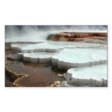 Yellowstone National Park. Decal