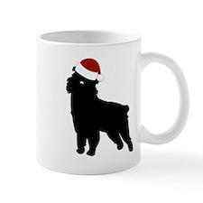 """Griffon """"Santa Hat"""" Mug"""