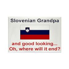 Slovenian Grandpa-Good Lkg Rectangle Magnet