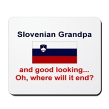 Slovenian Grandpa-Good Lkg Mousepad