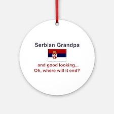 Serbian Grandpa-Good Lkg Keepsake Ornament