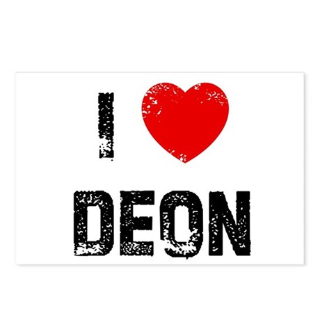 I * Deon Postcards (Package of 8)