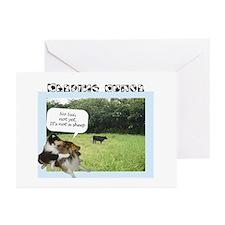 Herding Humor Greeting Cards (Pk of 10)