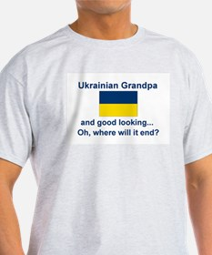 Good Lkg Ukrainian Grandpa T-Shirt