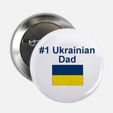 "#1 Ukrainian Dad 2.25"" Button"